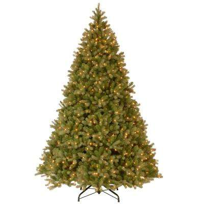 10 ft. Feel Real Downswept Douglas Hinged Artificial Christmas Tree with 1200 Clear Lights