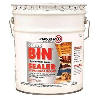 B-I-N Clear Shellac-Based Interior Sealer