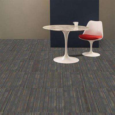 Designer Cool Gray Loop 24 in. x 24 in. Modular Carpet Tile Kit (18 Tiles/Case)