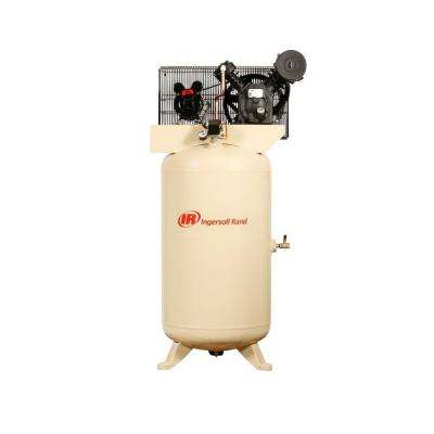 Type 30 Reciprocating 80 Gal. 5 HP Electric 230-Volt, Single Phase Air Compressor