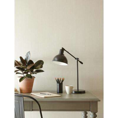 French Ticking Paper Strippable Wallpaper (Covers 56 sq. ft.)