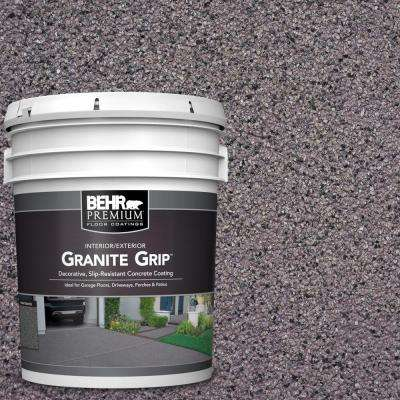 5 gal. #GG-04 Royal Pearl Decorative Concrete Floor Coating