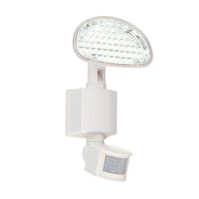 48-Light White Outdoor Solar LED Motion Light