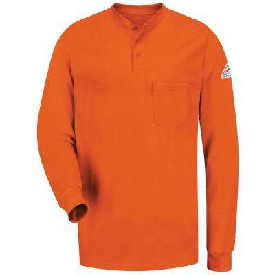 ECEL FR Men's Long Sleeve Tagless Henley Shirt