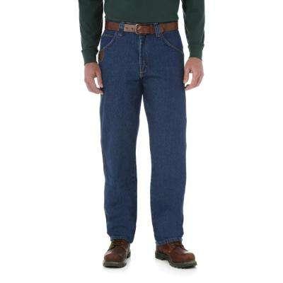 Men's Antique Indigo Five Pocket Jean