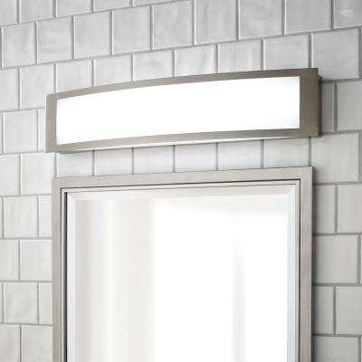 180-Watt Equivalent Brushed Nickel Integrated LED Vanity Light