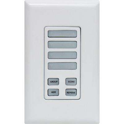 Z-Wave Wireless Lighting Control with Keypad Controller