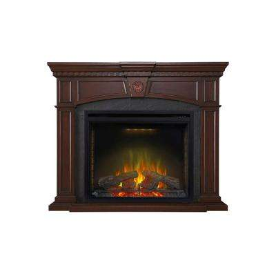 Harlow 34 in. x 28.60 in. Firebox with 55 in. x 45.3 in. Mantel