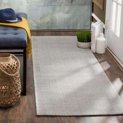 Marbella Silver 2 ft. 3 in. x 8 ft. Runner Rug