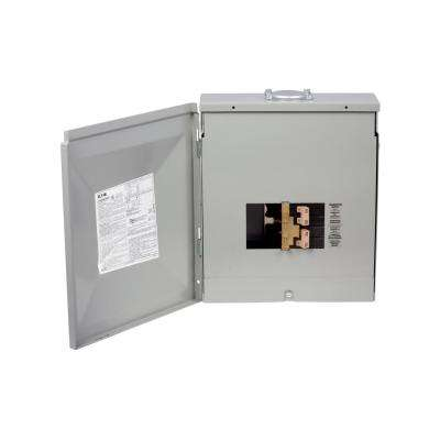8-Circuit Outdoor Manual Transfer Switch