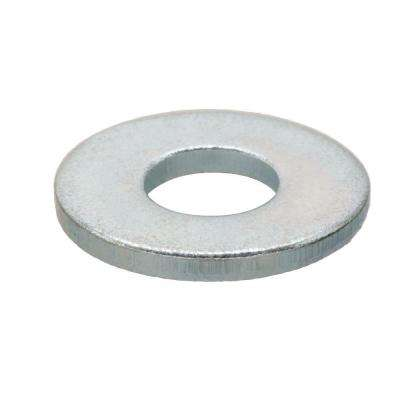 #8 Zinc-Plated Flat Washer (100 per Pack)