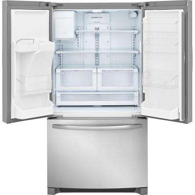 21.7 cu. ft. French Door Refrigerator in Stainless Steel, Counter Depth