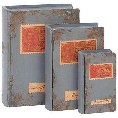 Wood Antique Grey Wood Boxes (Set of 3) - DISCONTINUED