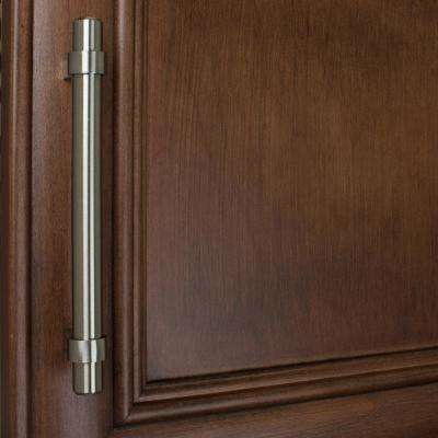 5 in. Center-to-Center Solid Stainless Steel Finish Euro Style Cabinet Bar Pulls (10-Pack)