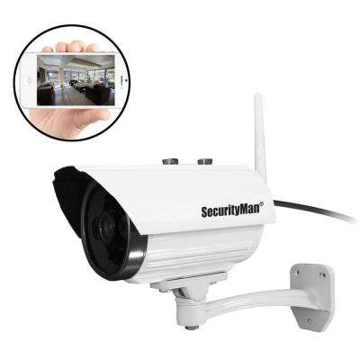 Wireless 720TVL Outdoor iSecurity Camera with 8GB SD Recorder and Night Vision with Remote Viewing