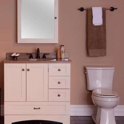 Manchester 36 in. Vanity Cabinet Only in Vanilla