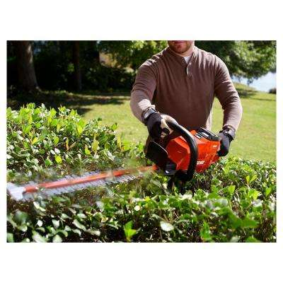 24 in. 58-Volt Lithium-Ion Brushless Cordless Hedge Trimmer - 2.0 Ah Battery and Charger Included