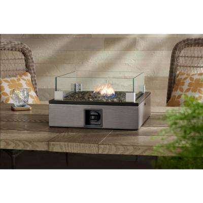 Hewitt Tabletop LP Firepit Square