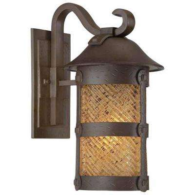 Lander Heights 1-Light Forged Iron Outdoor Wall Mount