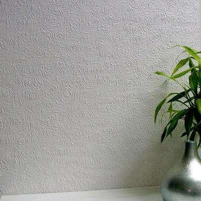 Swirl Paintable Anaglypta Pro Wallpaper Sample