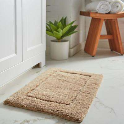 Mohawk Home Regency Barley 17 In X 24 In Cotton Machine Washable Bath Mat 087273 The Home Depot