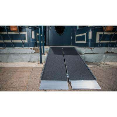 SUITCASE 4 ft. Singlefold Ramp with Applied Surface