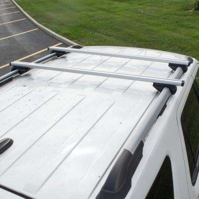 54 in. Universal Aluminum Roof Bars for Full Size SUVs (Set of 2)