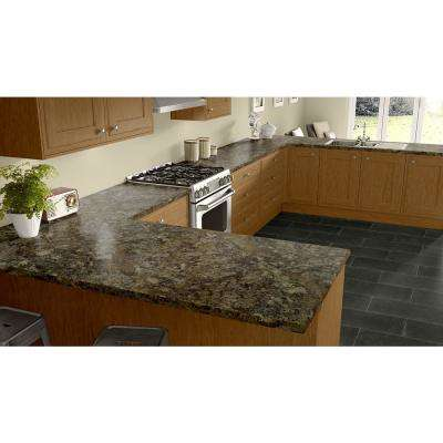 3 in. x 5 in. Laminate Countertop Sample in Summer Carnival with HD Mirage Finish