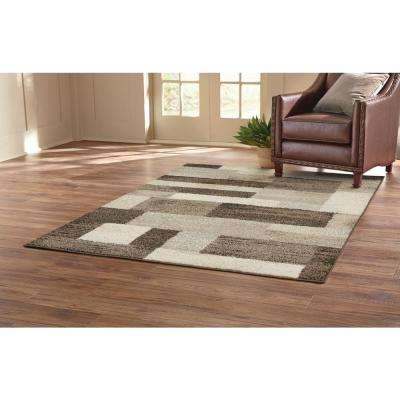 Asher Brown 4 ft. x 6 ft. Area Rug