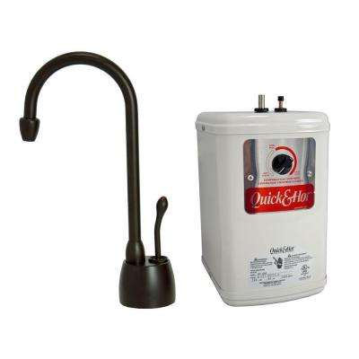 Single-Handle Hot Water Dispenser Faucet with Heating Tank in Oil Rubbed Bronze