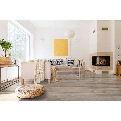 Woodland Mystic Gray 7 in. x 48 in. Luxury Vinyl Plank Flooring (23.8 sq. ft. / case)