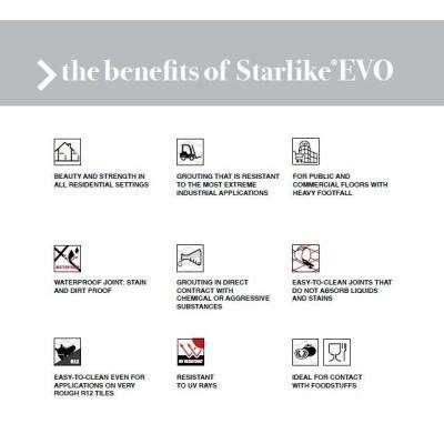 Starlike EVO140 5.5 lbs. Nero Grafite