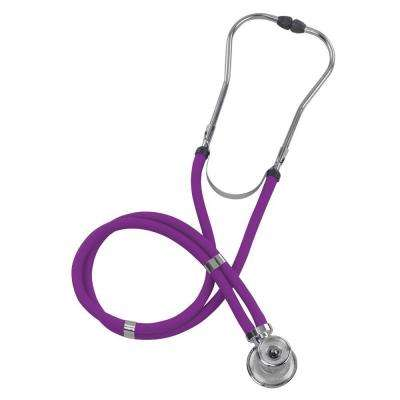 MABIS Legacy Sprague Rappaport-Type Stethoscope for Adult in Purple