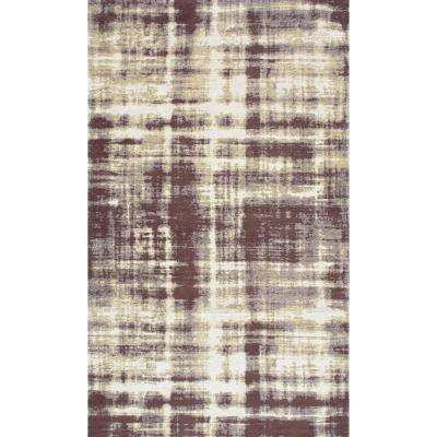 Benton Vintage Overdyed Taupe 7 ft. 6 in. x 9 ft. 6 in. Area Rug