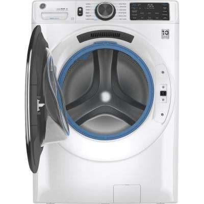 4.8 cu. ft. White Front Load Washing Machine with OdorBlock UltraFresh Vent System and Sanitize with Oxi