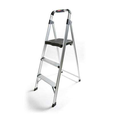 3-Step Aluminum Step Stool Ladder