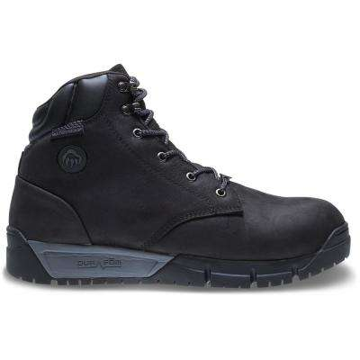 Men's Mauler LX Black Premium Waterproof Leather Boot