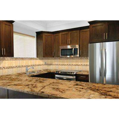 3 in. x 3 in. Granite Countertop Sample in Lapidus