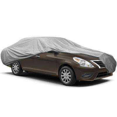 Supreme Umbrella Fabric Waterproof 230 in. x 80 in. x 47 in. XXX-Large Exterior Sedan Car Cover