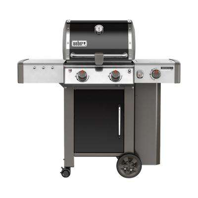 Genesis II LX E-240 2-Burner Propane Gas Grill in Black