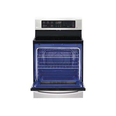 6.3 cu. ft. Single Oven Electric Range with in Stainless Steel with Ultra Heat Burner