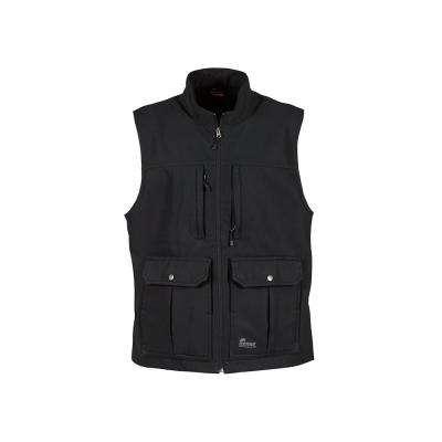 Men's Black Polyester CCW Vests