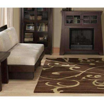 Perpetual Brown 10 ft. x 14 ft. Area Rug