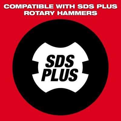 1-7/8 in. Steel SDS-Plus Tile Chisel