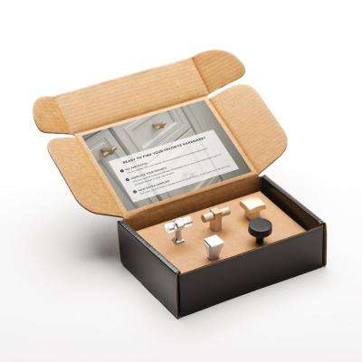 Modern Cabinet Knob Sample Box (5-Pack)