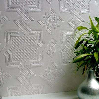 Seymour Paintable Supaglypta Wallpaper