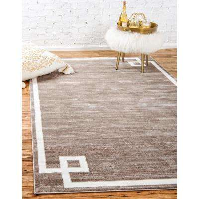 Uptown Collection by Jill Zarin™ Lenox Hill Light Brown 8' 0 x 10' 0 Area Rug
