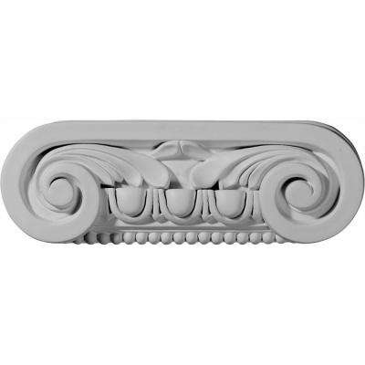 9-1/2 in. x 2-1/4 in. x 3-1/8 in. Primed Polyurethane Southampton Capital