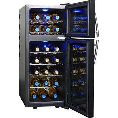 21-Bottle Freestanding Wine Cooler