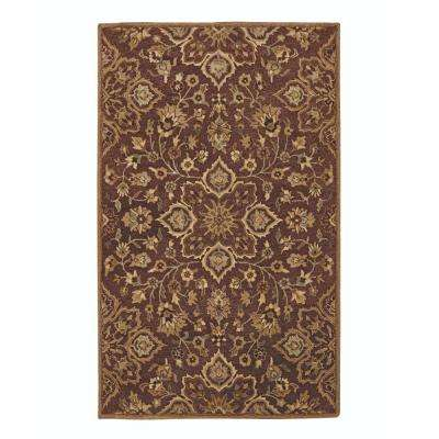 Reine Brown 9 ft. 6 in. x 13 ft. 6 in. Area Rug